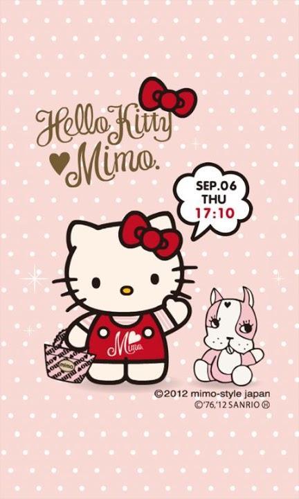 mimo.×HELLO KITTY ライブ壁紙のスクリーンショット_3