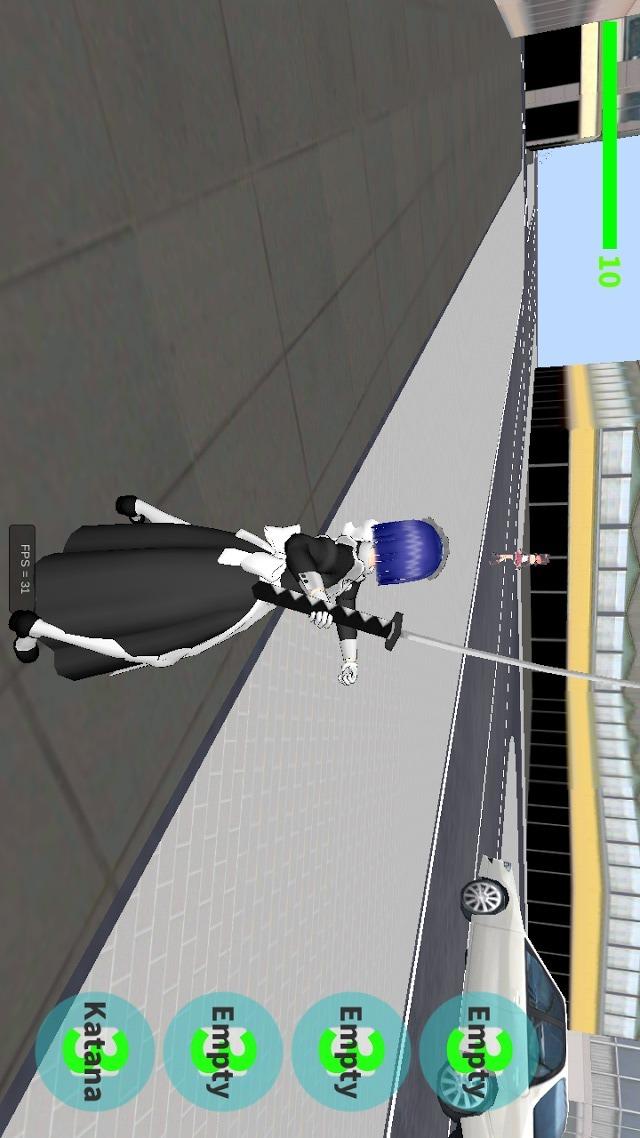 Maid-Chan vs Yandere-Chanのスクリーンショット_4
