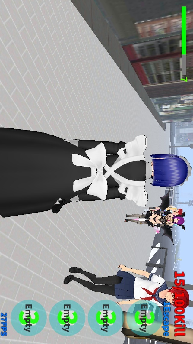 Maid-Chan vs Yandere-Chanのスクリーンショット_5