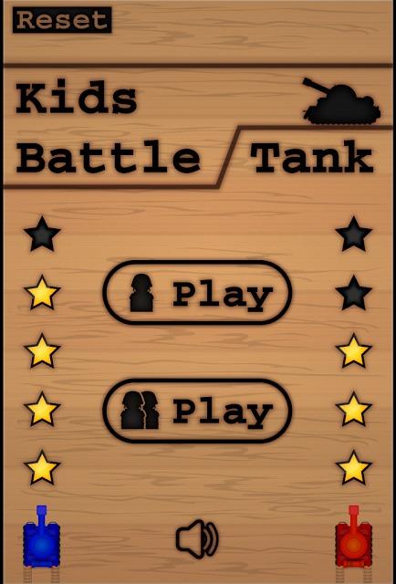 子供と遊べる戦車ゲーム「Kids Battle Tank」のスクリーンショット_1