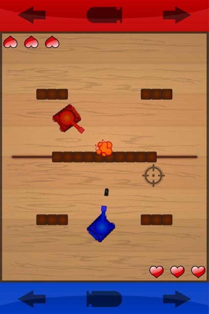 子供と遊べる戦車ゲーム「Kids Battle Tank」のスクリーンショット_3