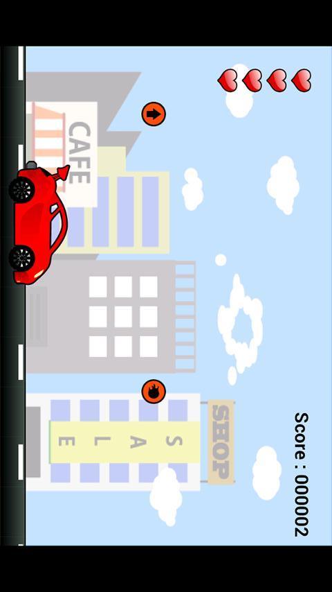 """子供向け車ゲームアプリ """"ぶーぶー2""""のスクリーンショット_2"""