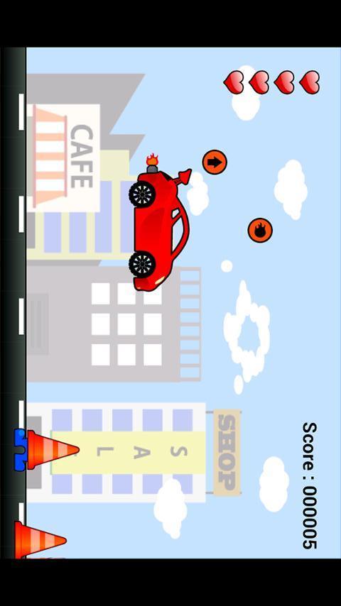 """子供向け車ゲームアプリ """"ぶーぶー2""""のスクリーンショット_3"""
