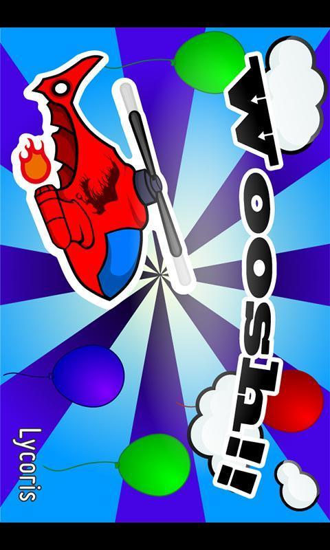 """子供向け飛行機ゲームアプリ  """"Woosh""""のスクリーンショット_1"""