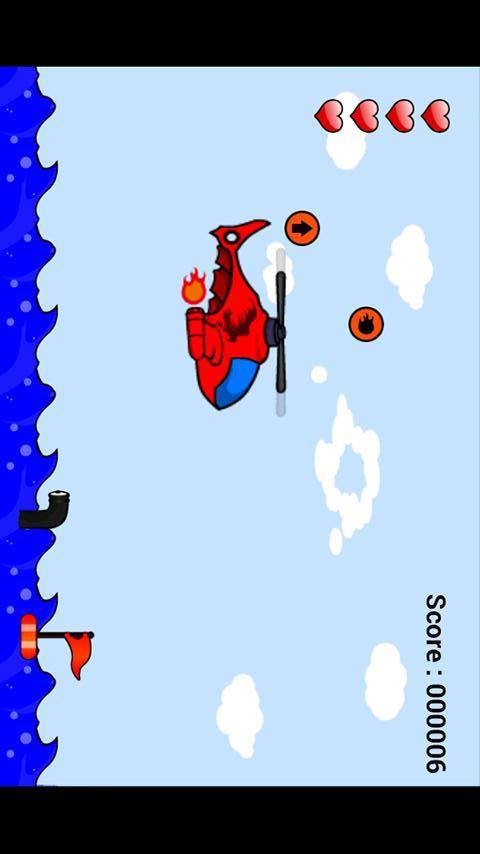 """子供向け飛行機ゲームアプリ  """"Woosh""""のスクリーンショット_2"""