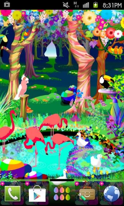 bird paradise Themeのスクリーンショット_1