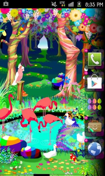 bird paradise Themeのスクリーンショット_2