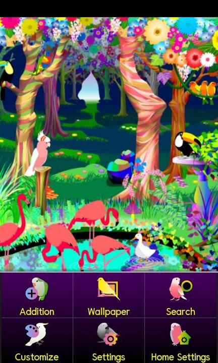 bird paradise Themeのスクリーンショット_3