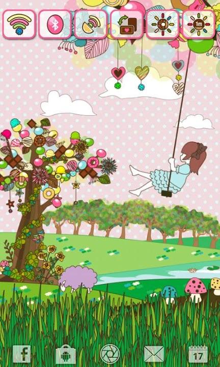 sweet tree Widgetのスクリーンショット_3
