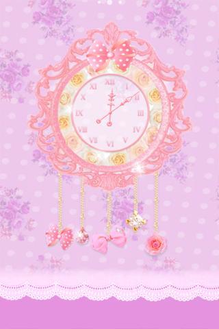 princess clock ライブ壁紙のスクリーンショット_2