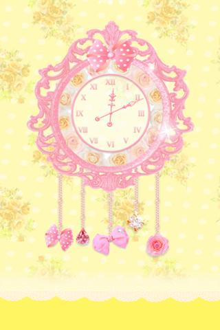 princess clock ライブ壁紙のスクリーンショット_4