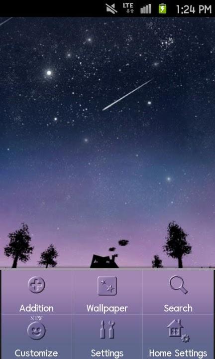Starlit Sky Themeのスクリーンショット_2