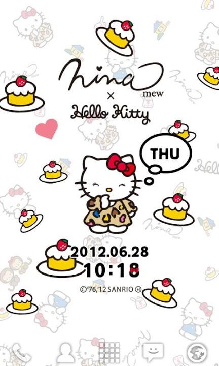 Ninamew×HELLO KITTY ライブ壁紙のスクリーンショット_3