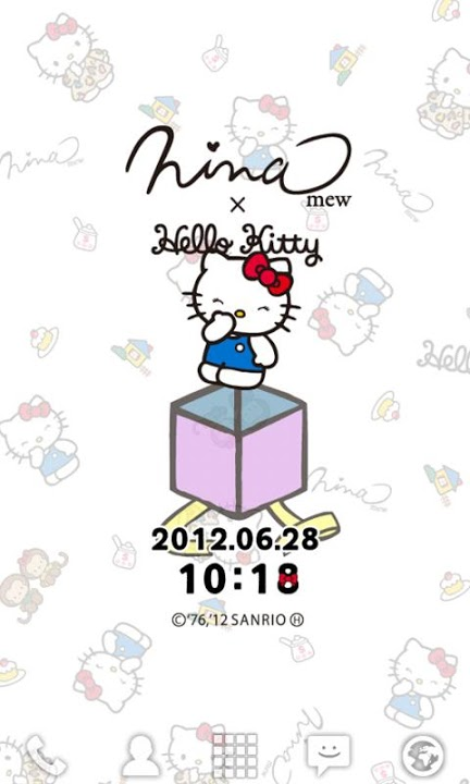 Ninamew×HELLO KITTY ライブ壁紙のスクリーンショット_5