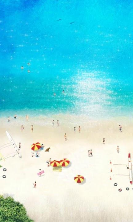 Beach Time ライブ壁紙 Freeのスクリーンショット_1