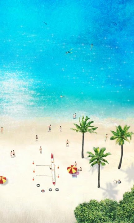 Beach Time ライブ壁紙 Freeのスクリーンショット_3