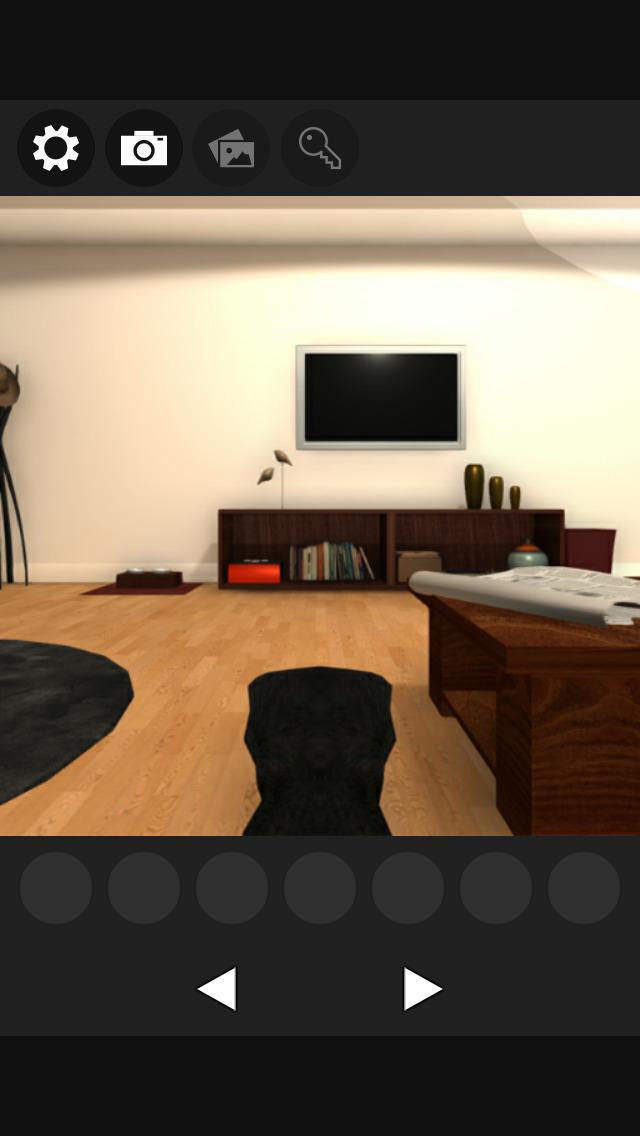 脱出ゲーム 謎解きにゃんこ2 -ミュージシャンの部屋-のスクリーンショット_1