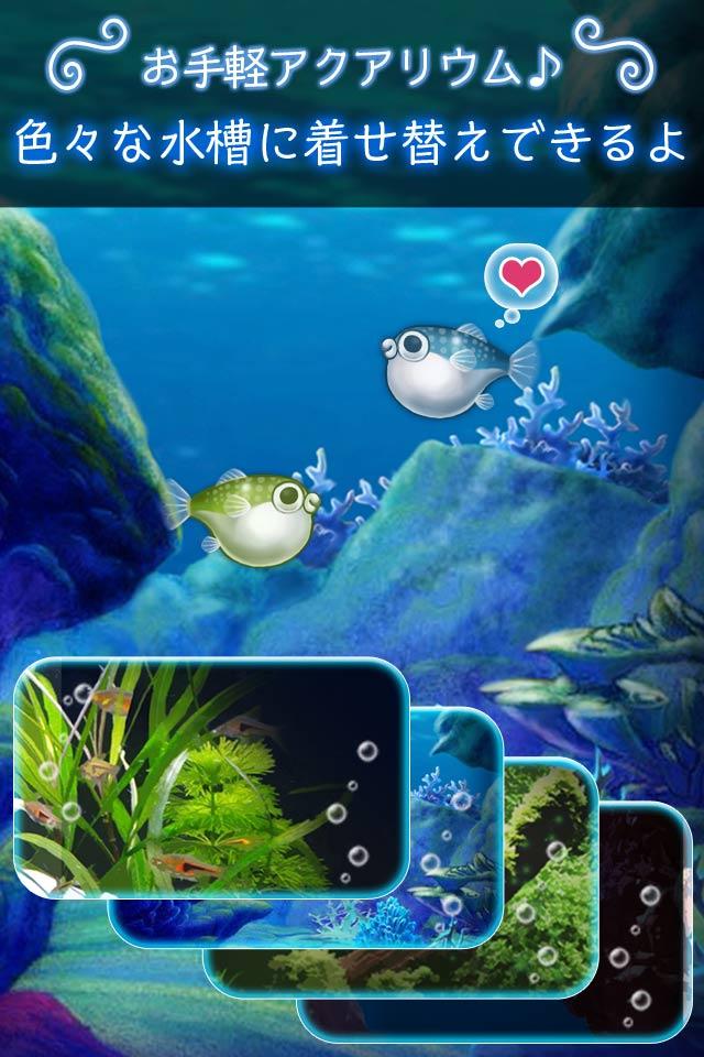 ぼくのフグさん水族館 【無料でかわいい育成ゲーム】のスクリーンショット_3