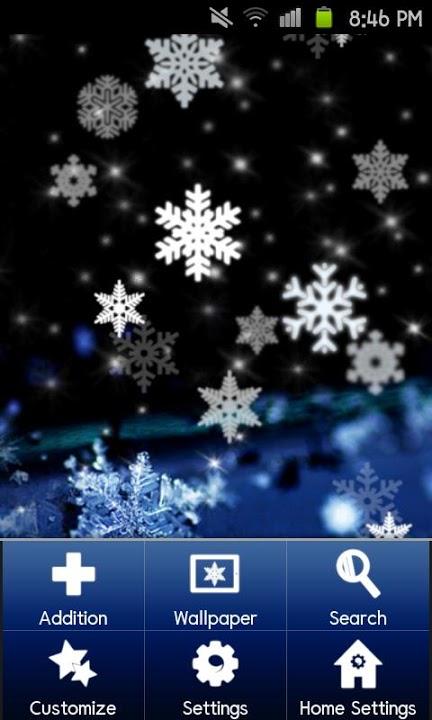 SNOW CRYSTAL Themeのスクリーンショット_2