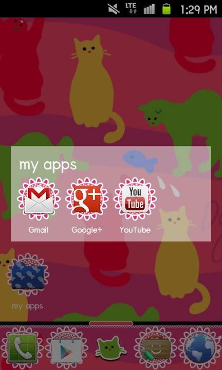 Daily Cats Themeのスクリーンショット_5