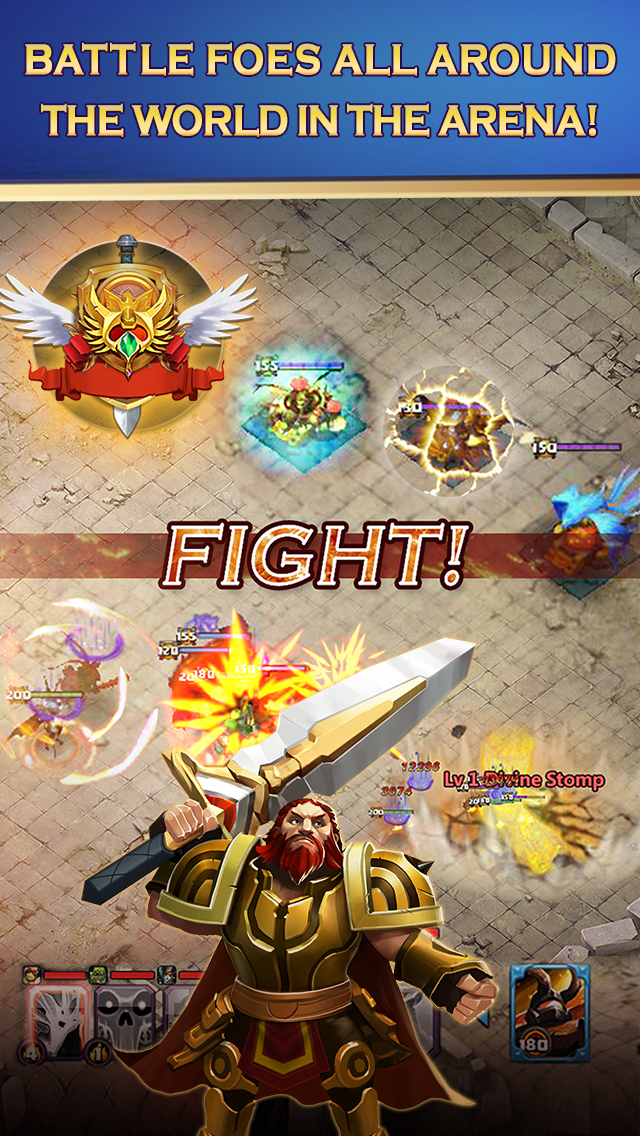 Clash of Lords 2: Heroes Warのスクリーンショット_1