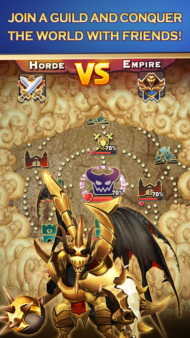 Clash of Lords 2: Heroes Warのスクリーンショット_3
