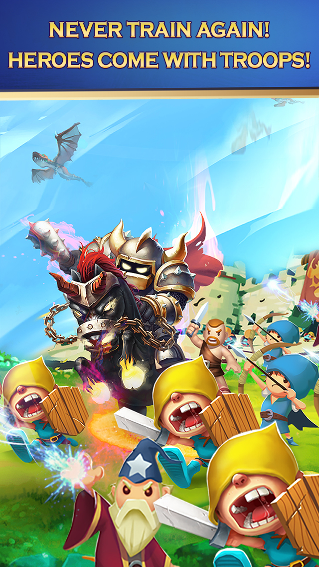 Clash of Lords 2: Heroes Warのスクリーンショット_4