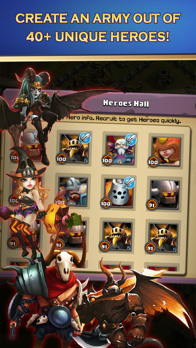 Clash of Lords 2: Heroes Warのスクリーンショット_5
