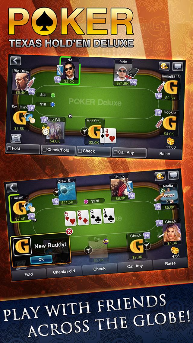 Texas HoldEm Poker Deluxeのスクリーンショット_4