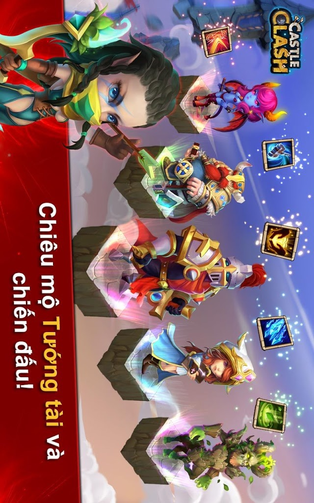 Castle Clash: Đế Chế Anh Hùngのスクリーンショット_3