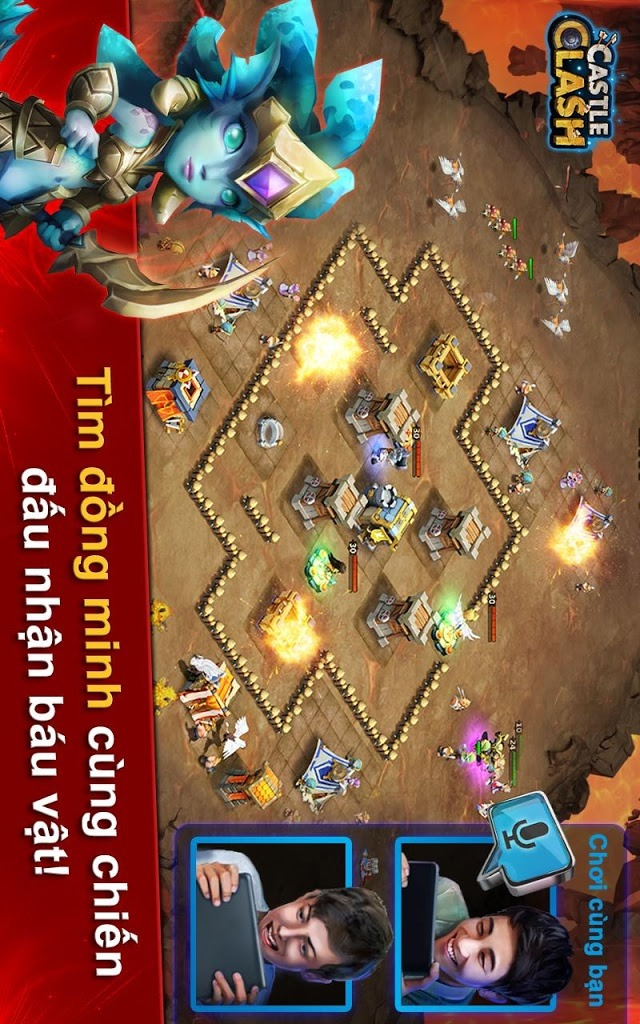 Castle Clash: Đế Chế Anh Hùngのスクリーンショット_4