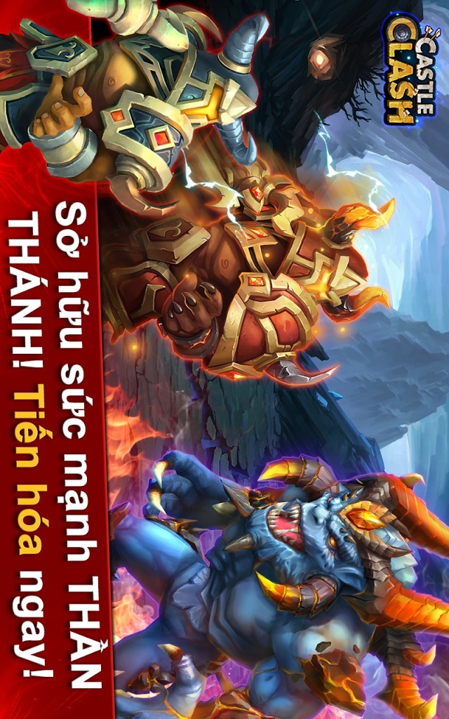 Castle Clash: Đế Chế Anh Hùngのスクリーンショット_5