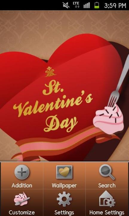 Valentines Heart Themeのスクリーンショット_2