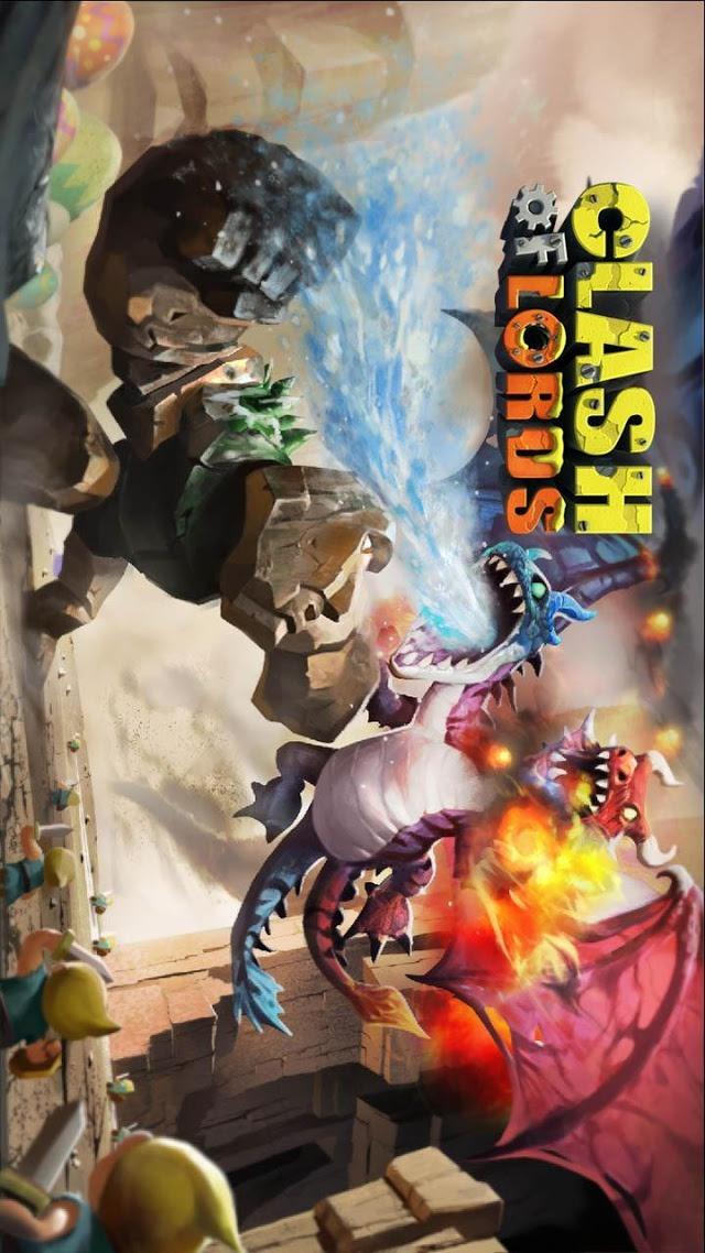 Clash of Lordsのスクリーンショット_1