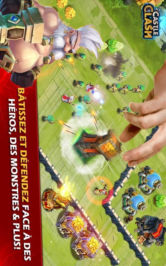 Castle Clash: Ère des Légendesのスクリーンショット_2