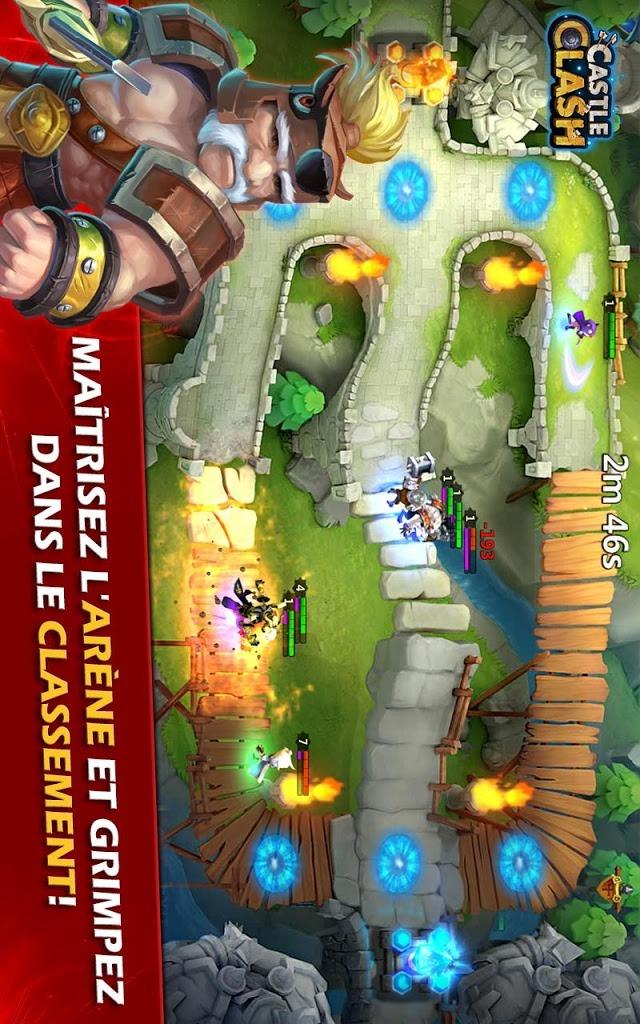 Castle Clash: Ère des Légendesのスクリーンショット_4