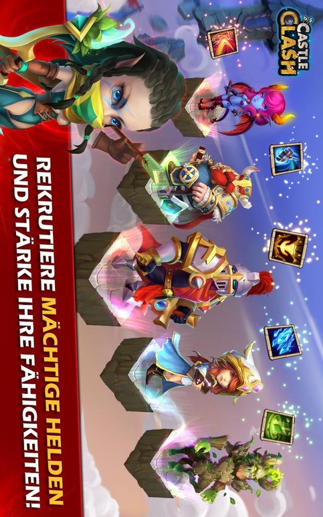 Castle Clash: Ära der Legendenのスクリーンショット_3