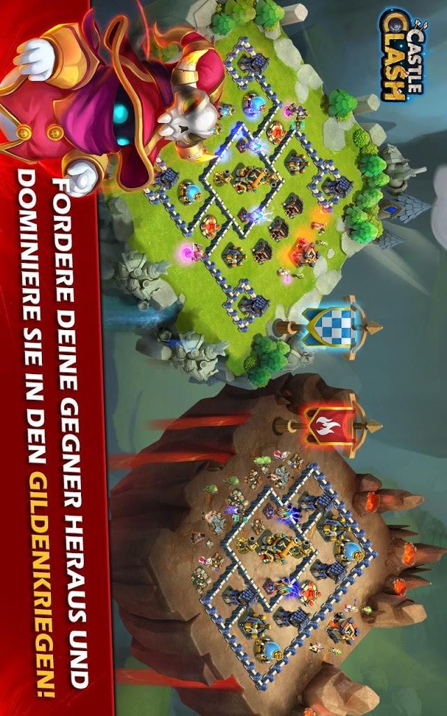 Castle Clash: Ära der Legendenのスクリーンショット_4