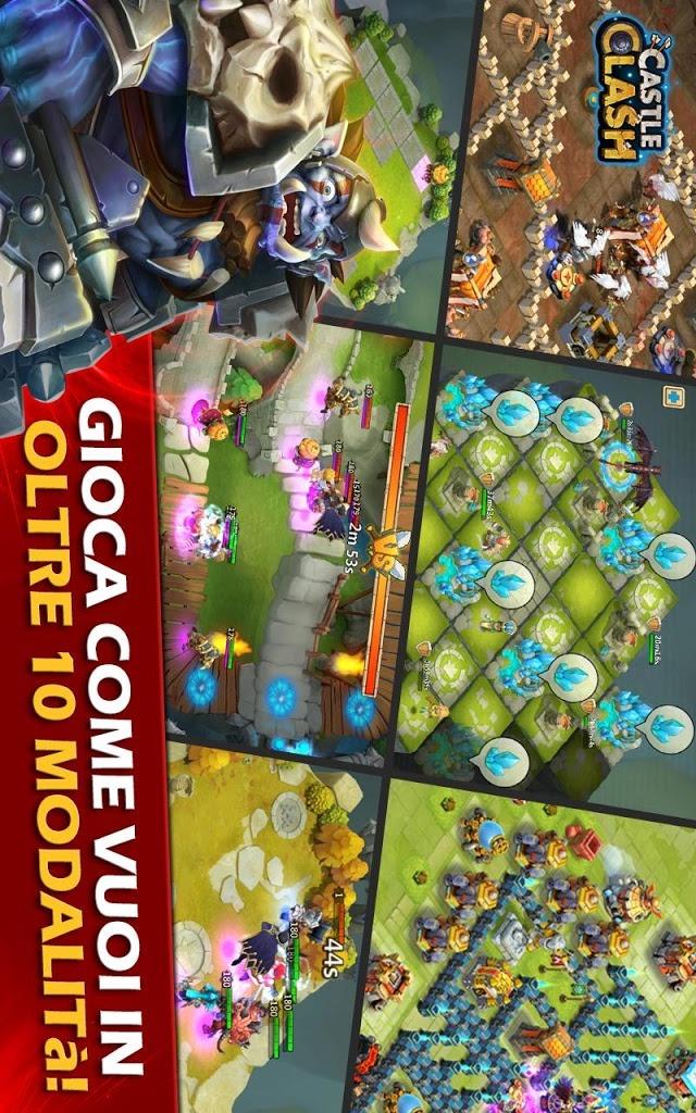 Castle Clash: Era Leggendariaのスクリーンショット_1