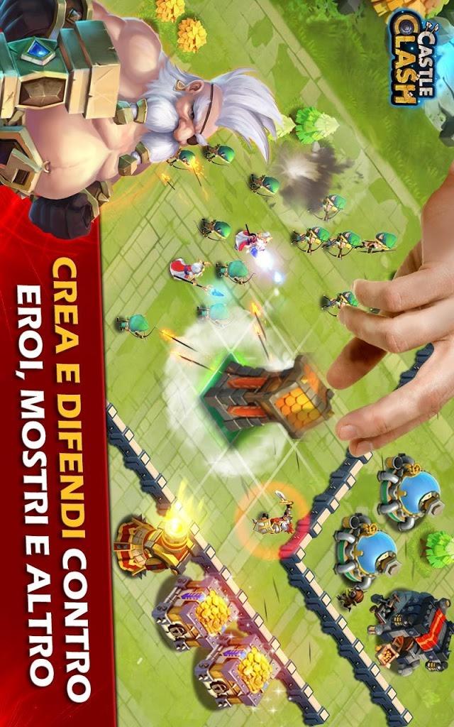 Castle Clash: Era Leggendariaのスクリーンショット_2
