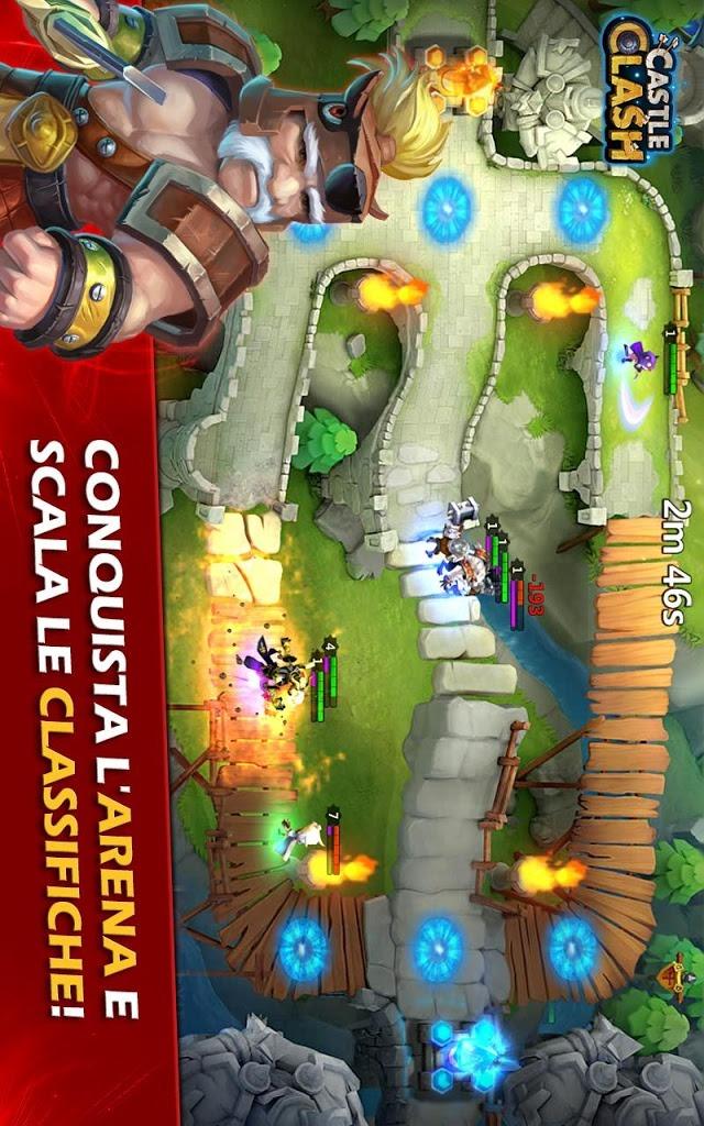 Castle Clash: Era Leggendariaのスクリーンショット_4