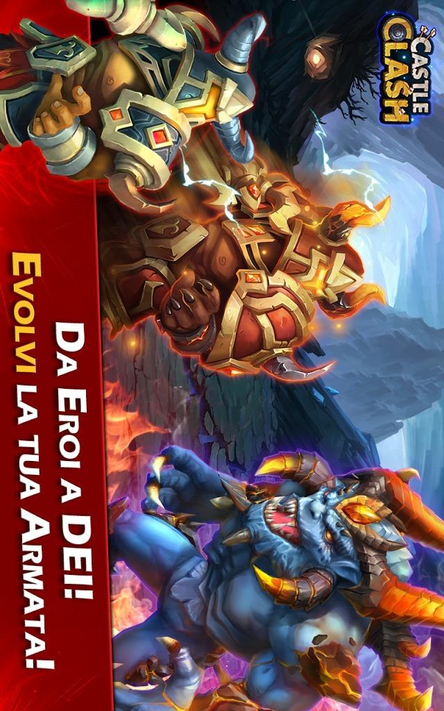Castle Clash: Era Leggendariaのスクリーンショット_5