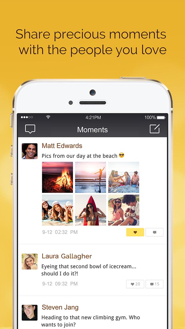 LINK Messenger: Friends & Familyのスクリーンショット_2
