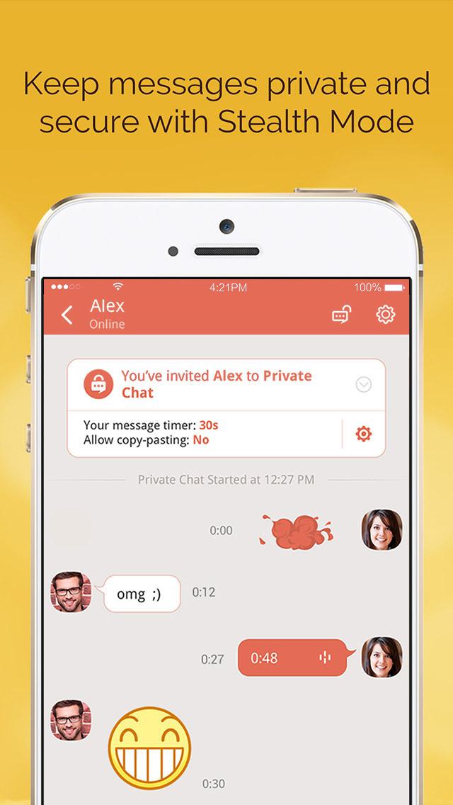 LINK Messenger: Friends & Familyのスクリーンショット_3