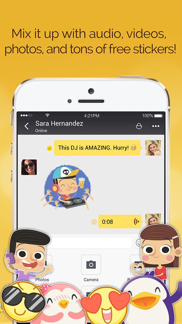LINK Messenger: Friends & Familyのスクリーンショット_5