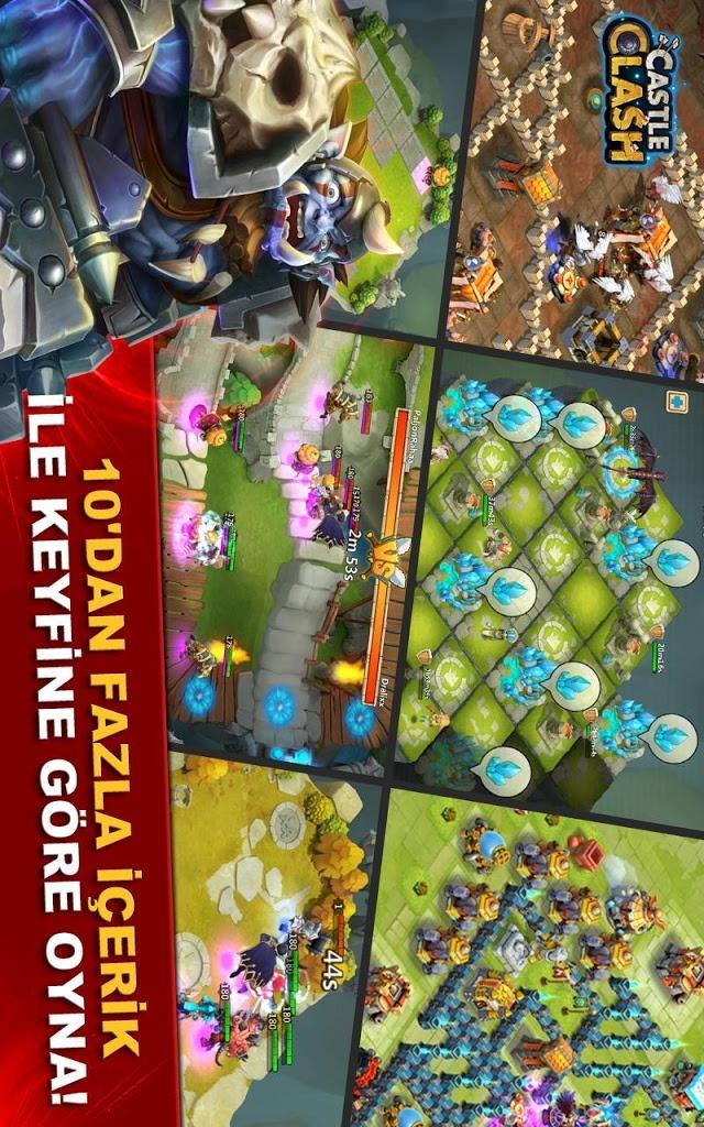 Castle Clash: Efsaneler Çağıのスクリーンショット_1