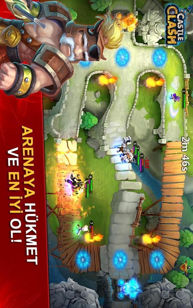 Castle Clash: Efsaneler Çağıのスクリーンショット_4