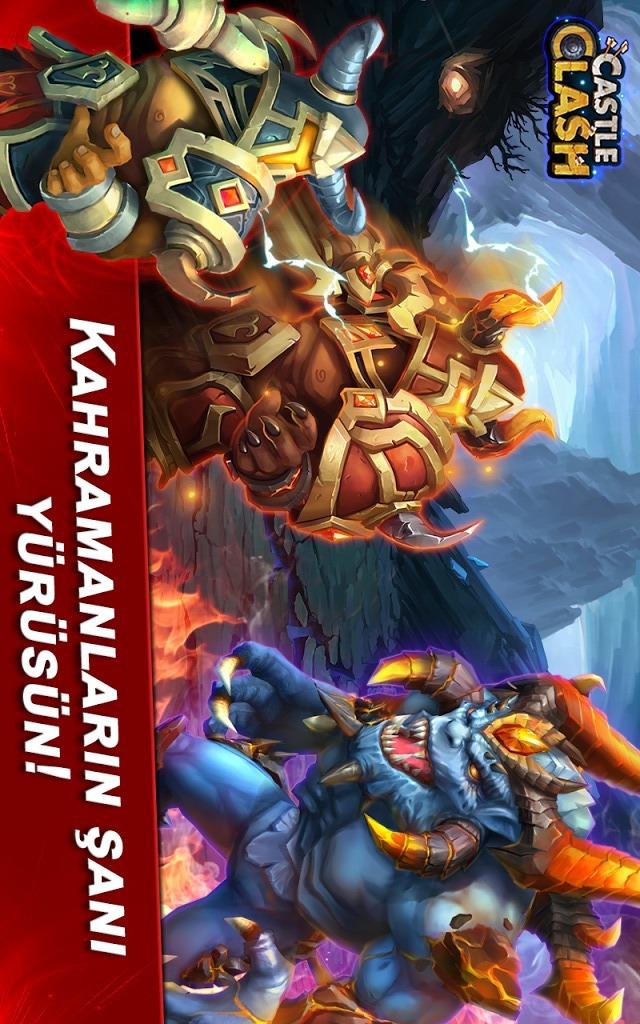 Castle Clash: Efsaneler Çağıのスクリーンショット_5