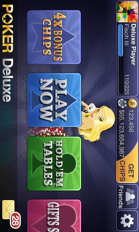 Texas HoldEm Poker Deluxeのスクリーンショット_1