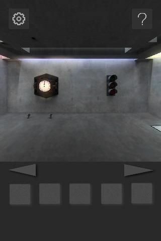 脱出ゲーム : 打ち放しコンクリートの部屋からの脱出のスクリーンショット_4